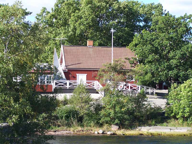 Houses in the Stockholm Archipelago