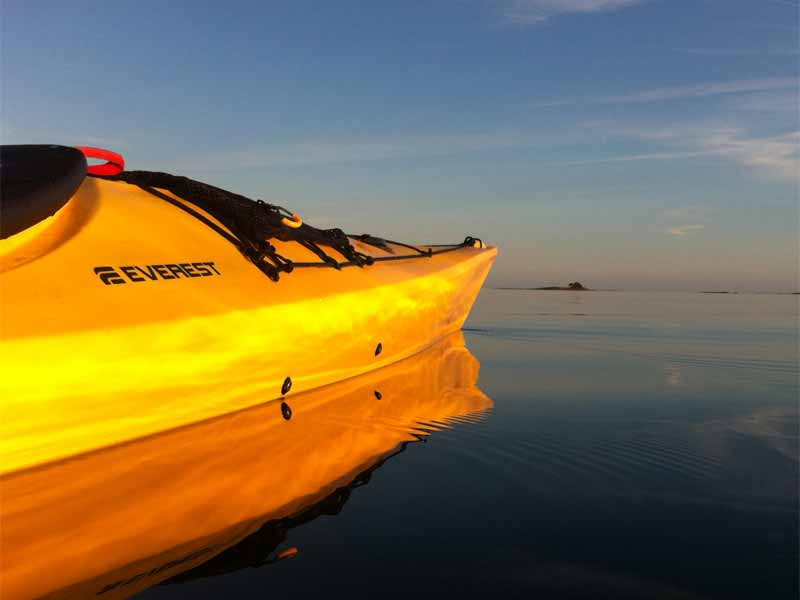 Discover Sea Kayaking in St Anna and Gryt