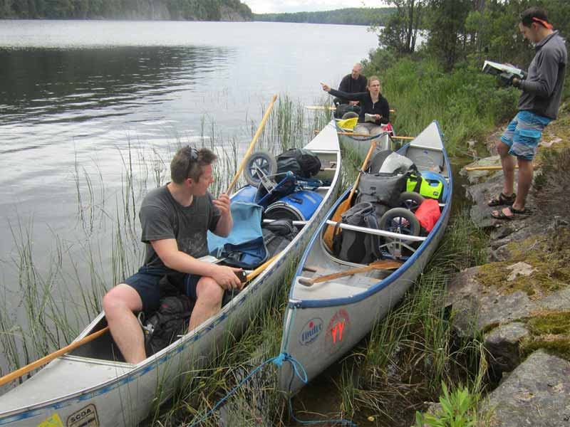Packing your canoe for your trip