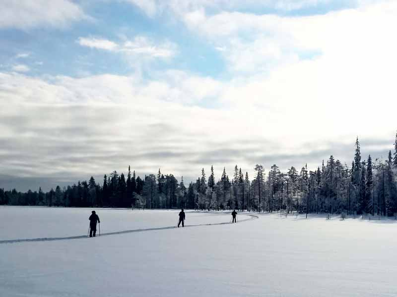 Cross Country Skiing in the Finnish-Russian Borderland