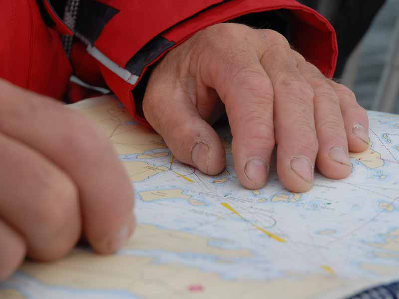 Navigating in the Stockholm Archipelago