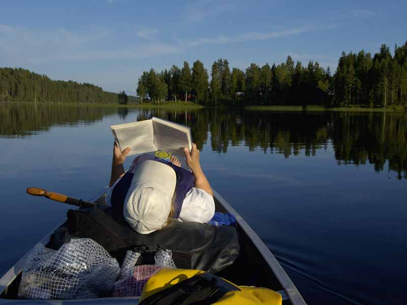 Canoe Tours on Klaralven