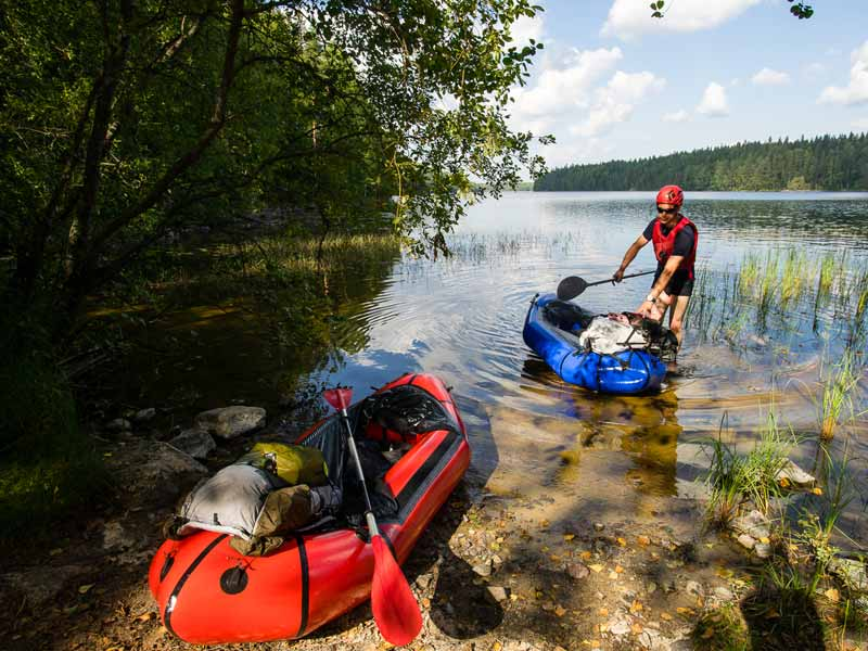 Packrafting equipment
